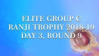 Ranji Trophy 2018-19, Round 9, Group C, Day 3: UP stake claim for qualification